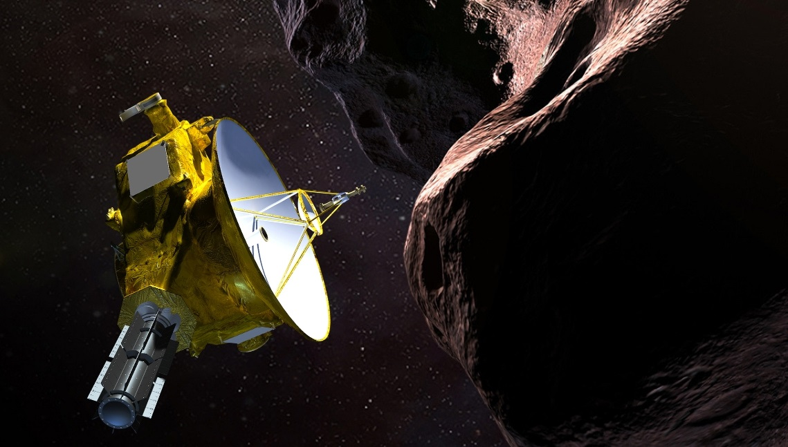 Photo: New Horizons MU69 Rendering