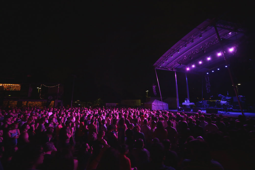 photo: UMS 2014 Night Crowd