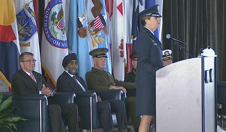 Photo: Robinson, Air Force, NORAD