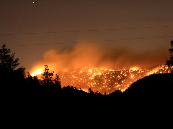 Photo: Lower North Fork Fire