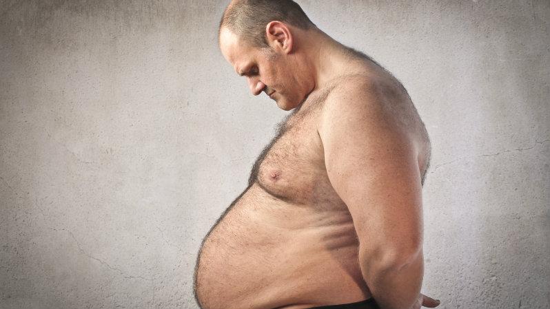 Photo: Obesity - Obese man (iStock)