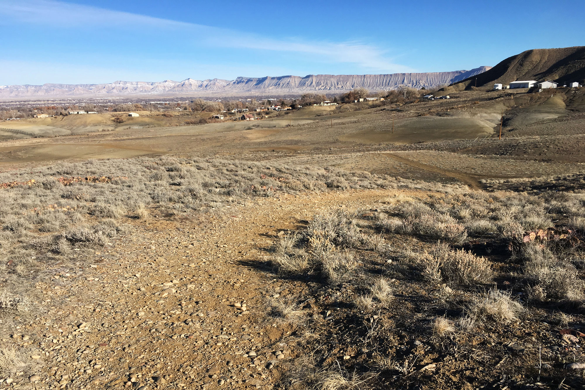 The Old Spanish Trail near Grand Junction, which is on Bureau of Land Management land.