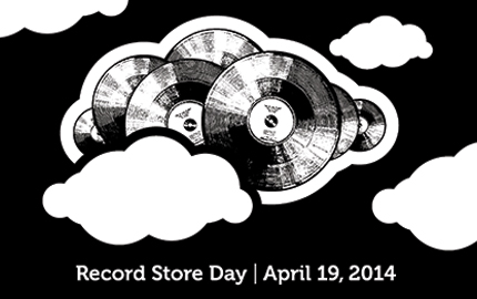 Image: Record Store Day illustration
