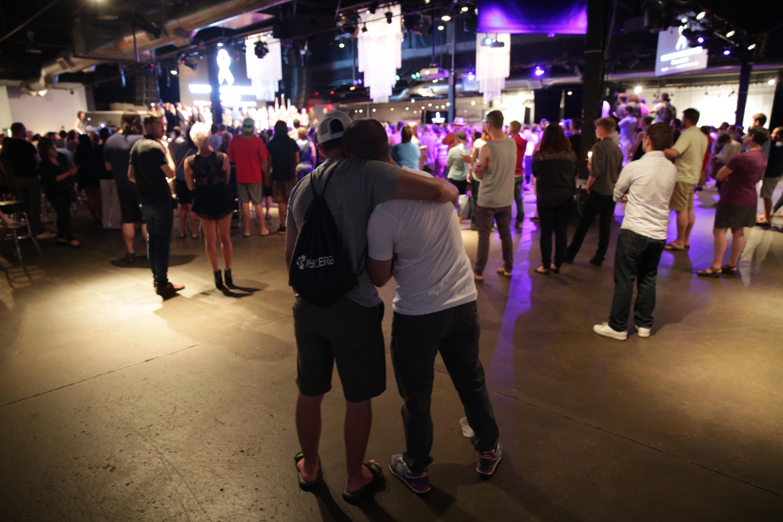 Photo: Orlando Vigil At Tracks, Embrace