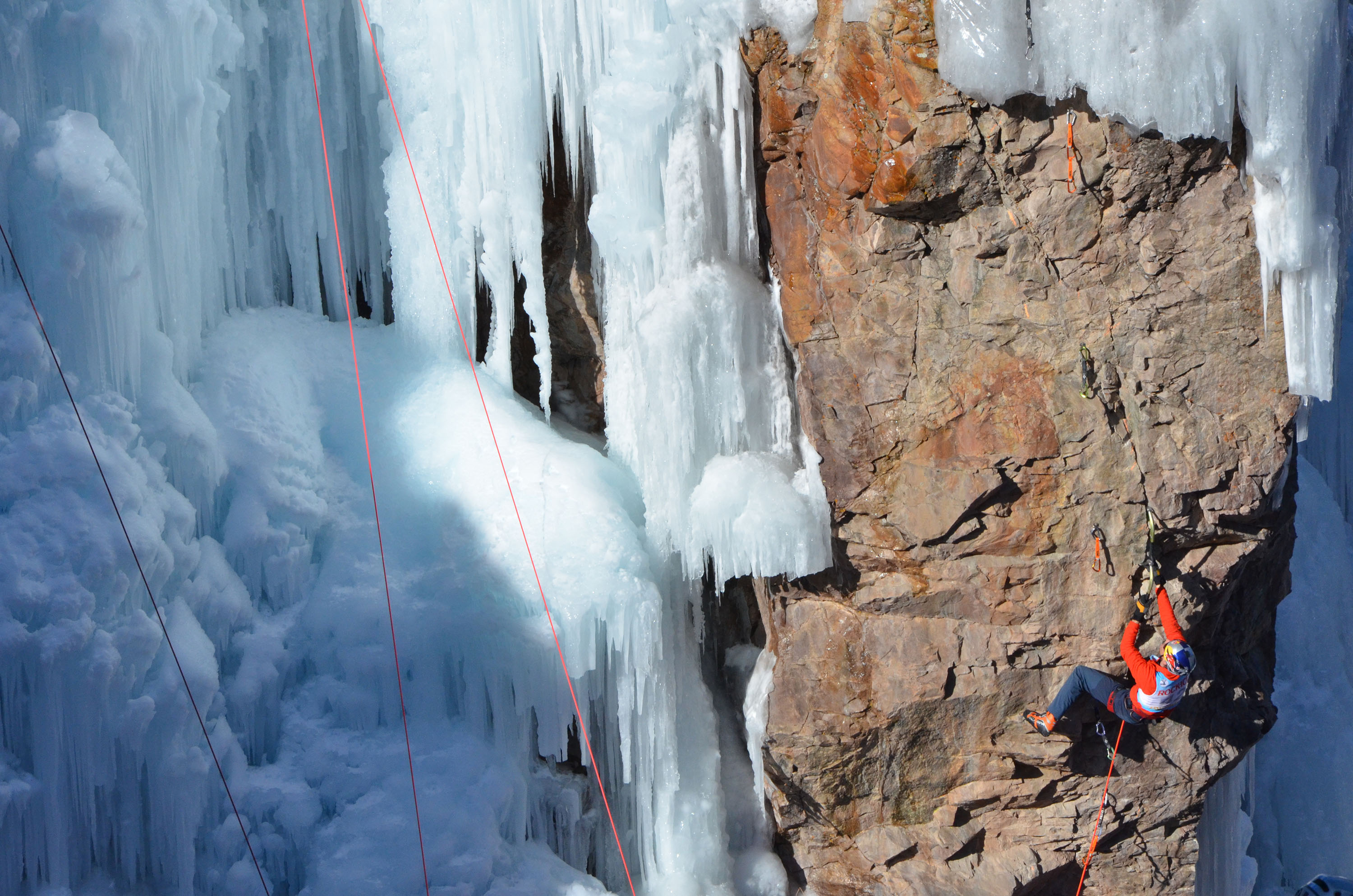 Ouray Ice Festival 2015: Will Gadd