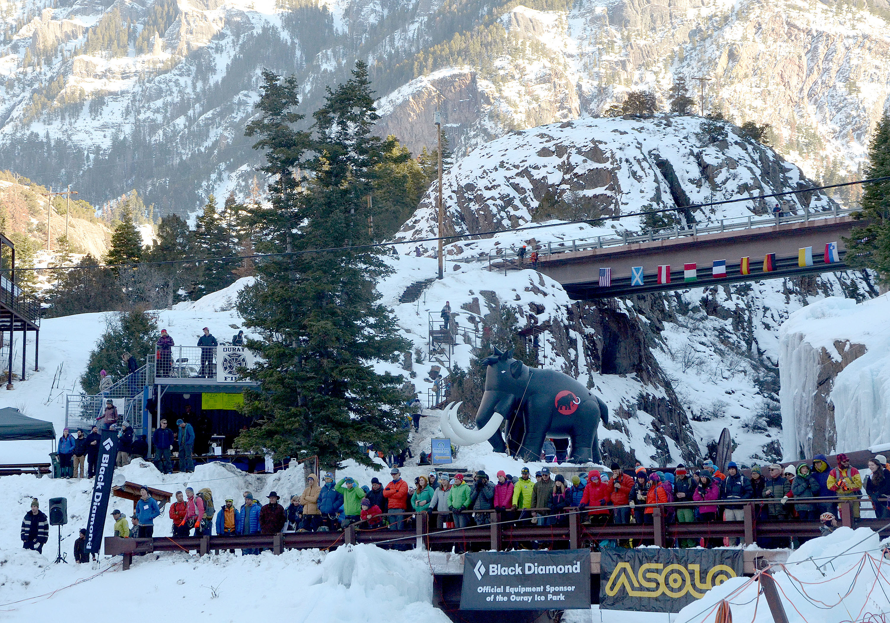 Ouray Ice Festival 2015: Spectators