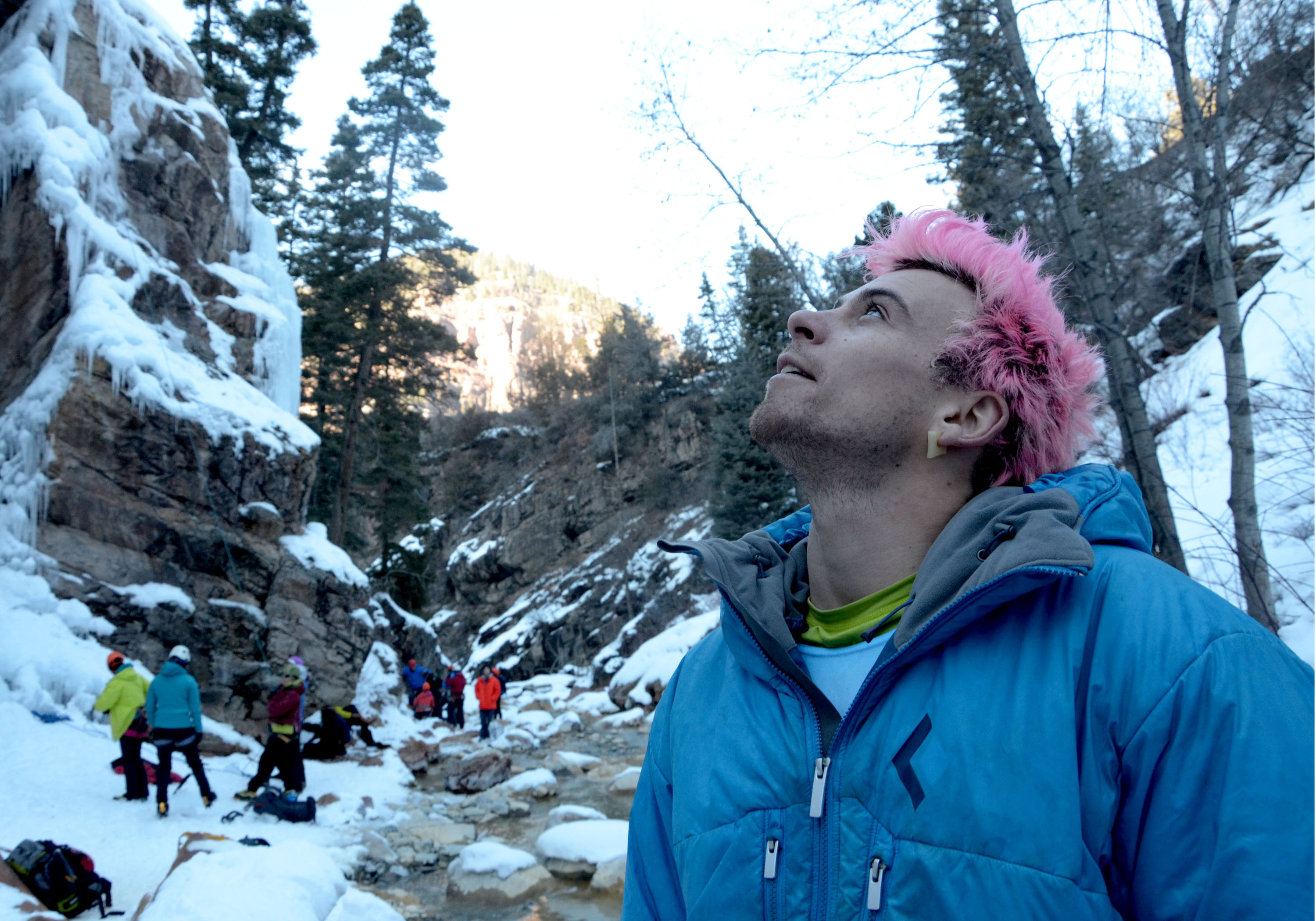 Ouray Ice Festival 2015: Mael Baguet