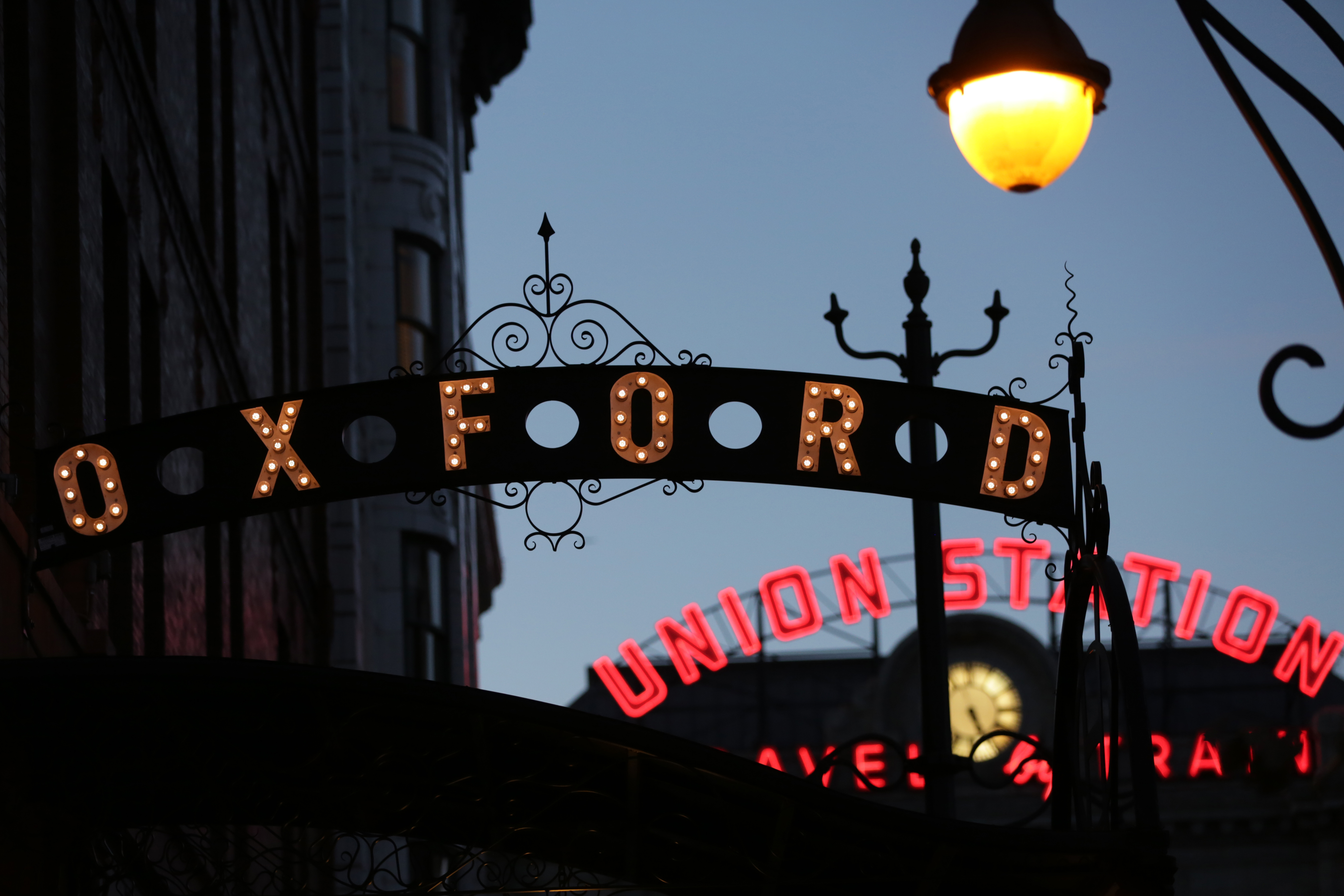 Photo: Oxford Hotel Sign