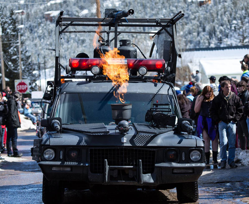 Photo: Frozen Dead Guy Days Parade of Hearses