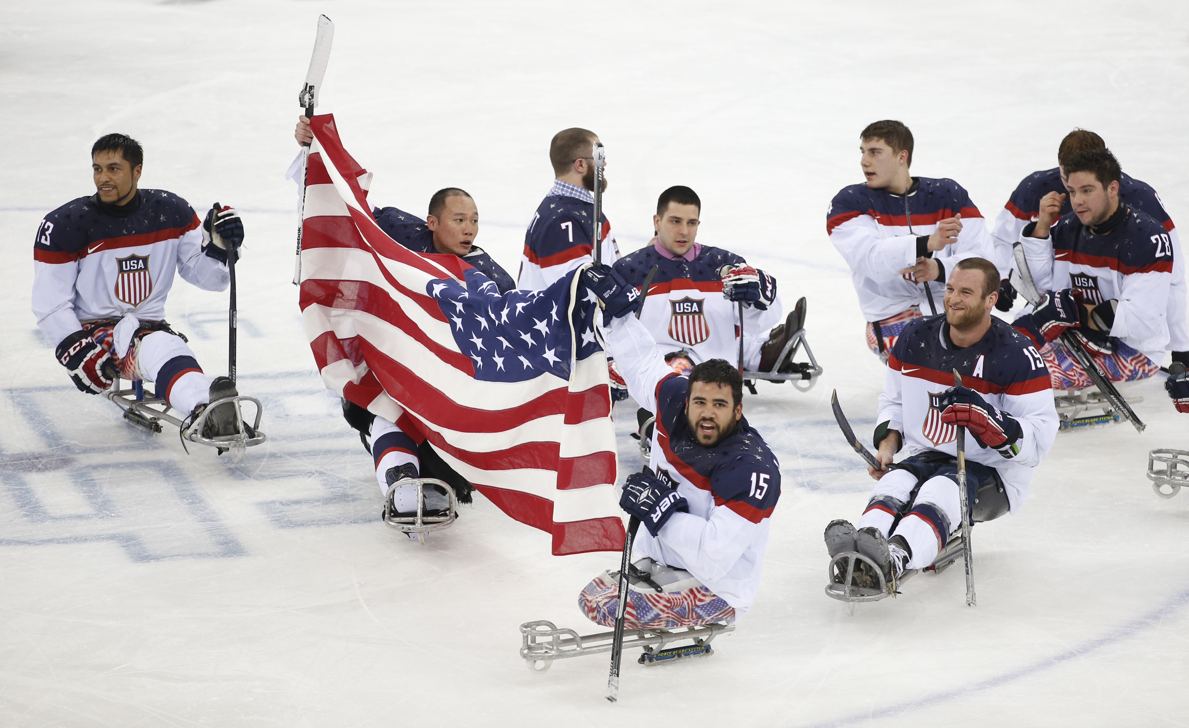 Photo: Paralympic Sled Hockey