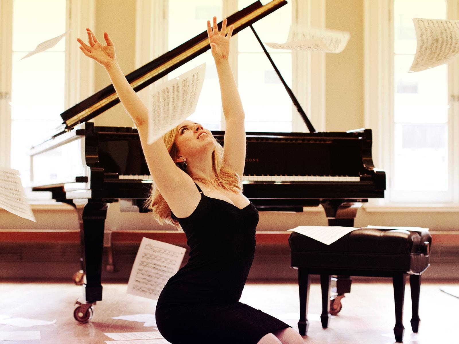 Photo: Pianist Natasha Paremski