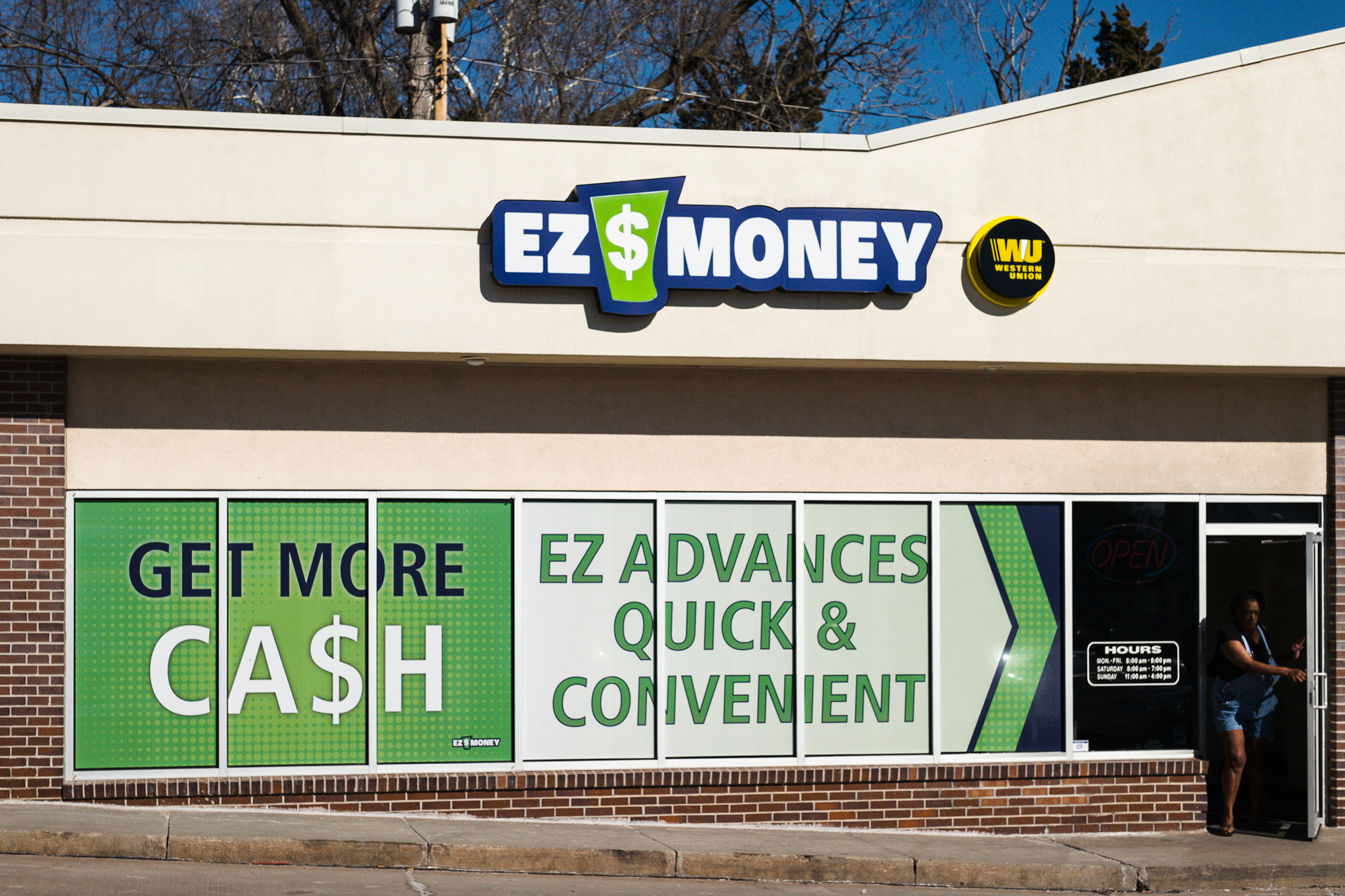 Photo: Payday Loan Storefront - AP