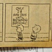 Photo: Peanuts Beethoven Birthday 2 (days left)