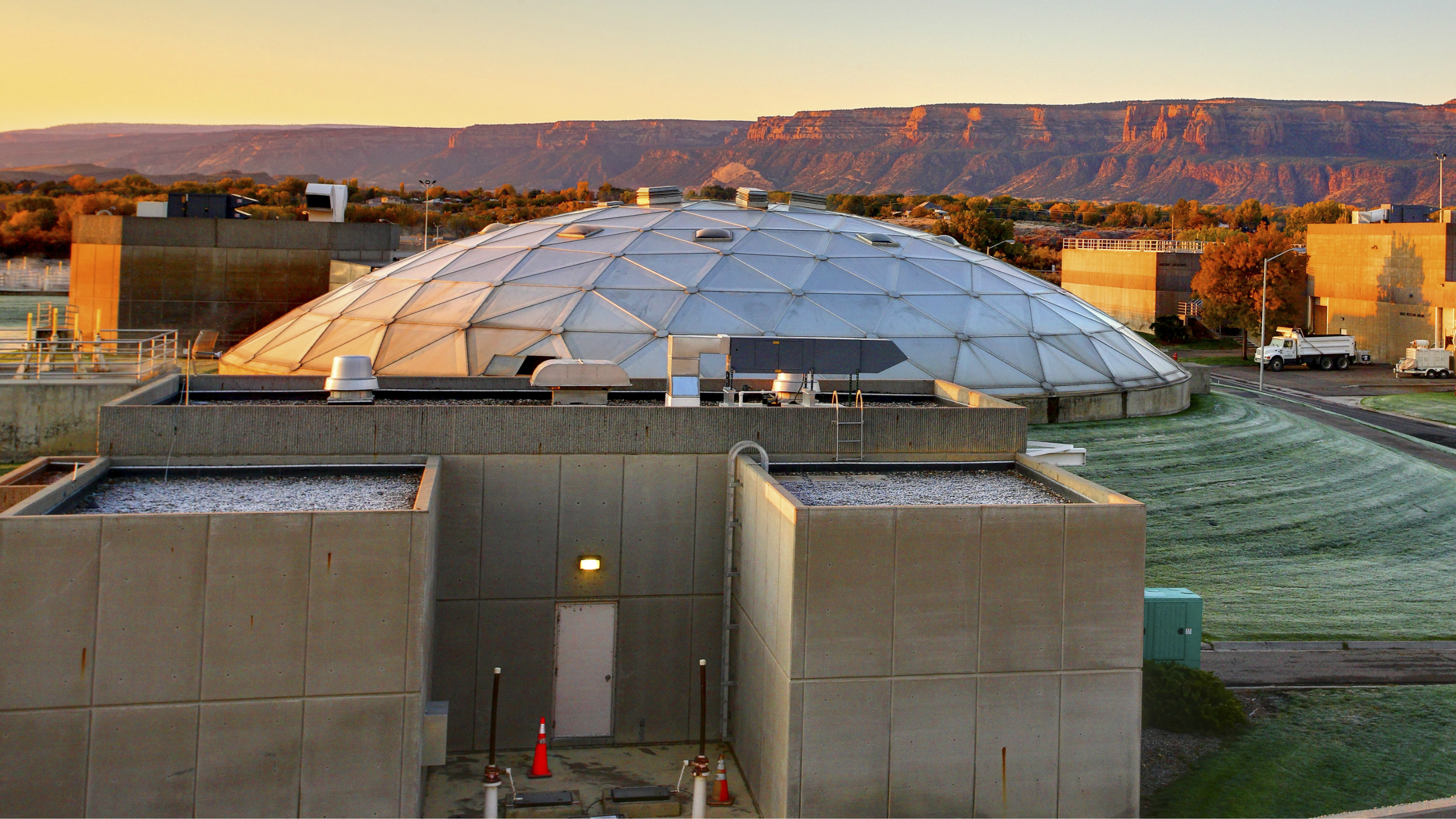 Photo: Persigo Wastewater Treatment Plant Grand Junction