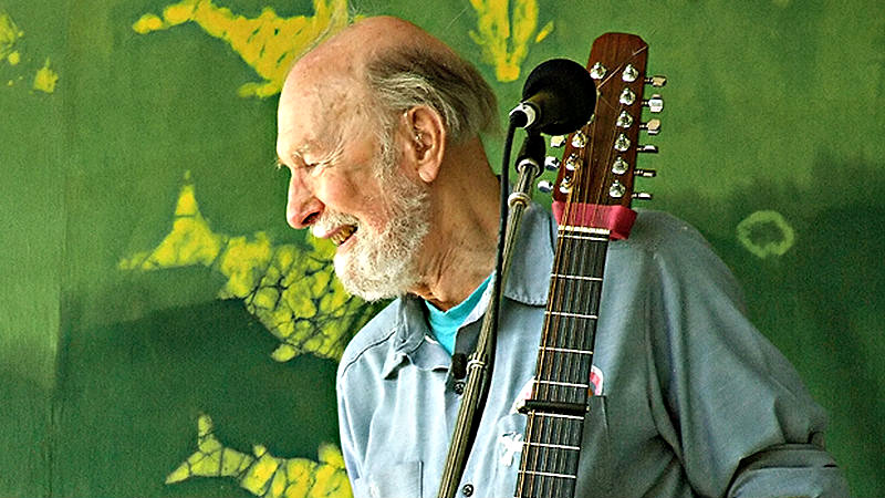 Photo: Pete Seeger