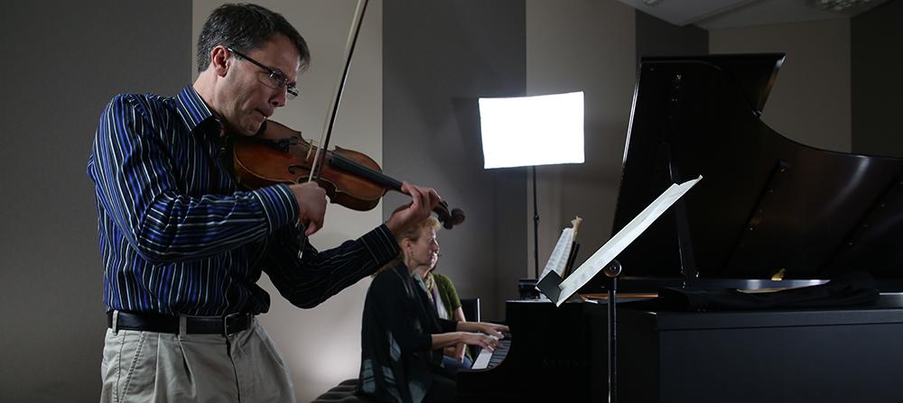 Image: CSO Musicians - Erik Peterson, Tamara Goldstein