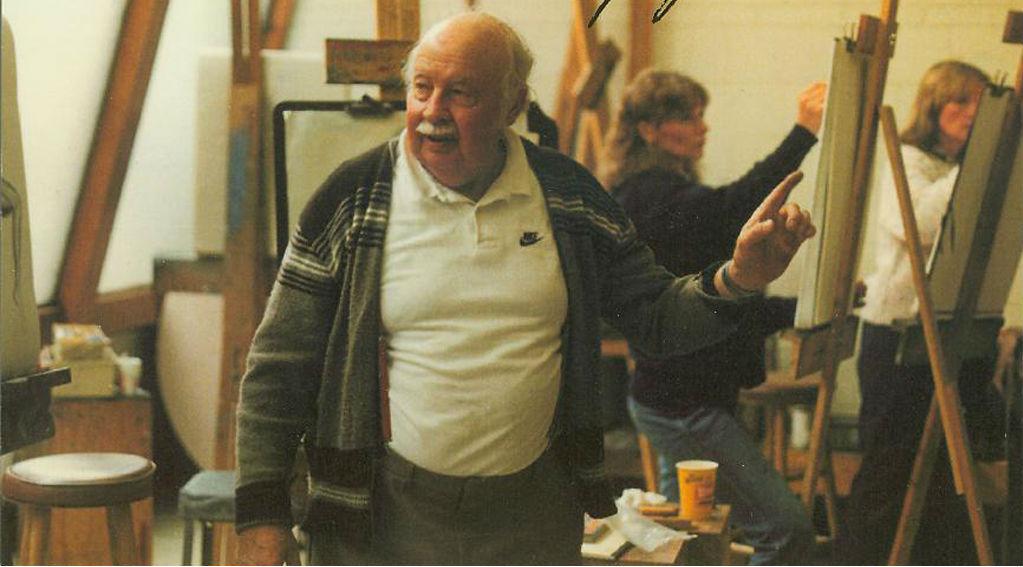 Photo: RMCAD founder Philip J. Steele teaches