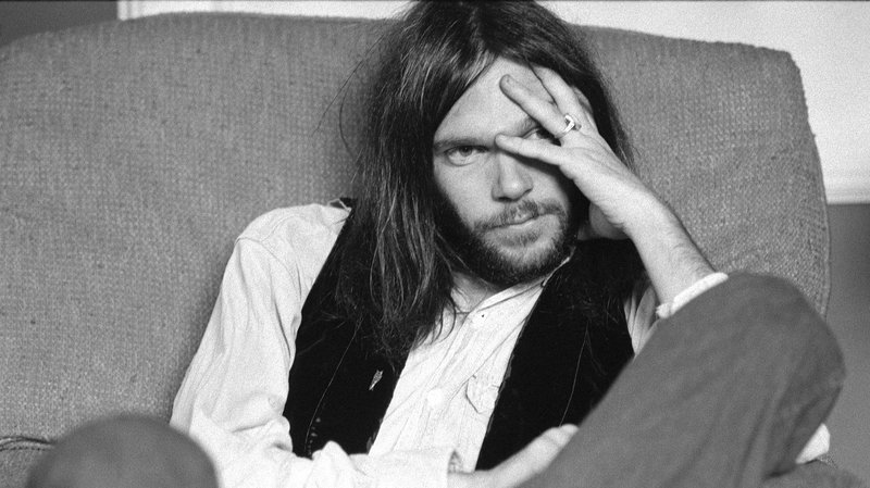 Photo: Neil YOung 'Hitchhiker'