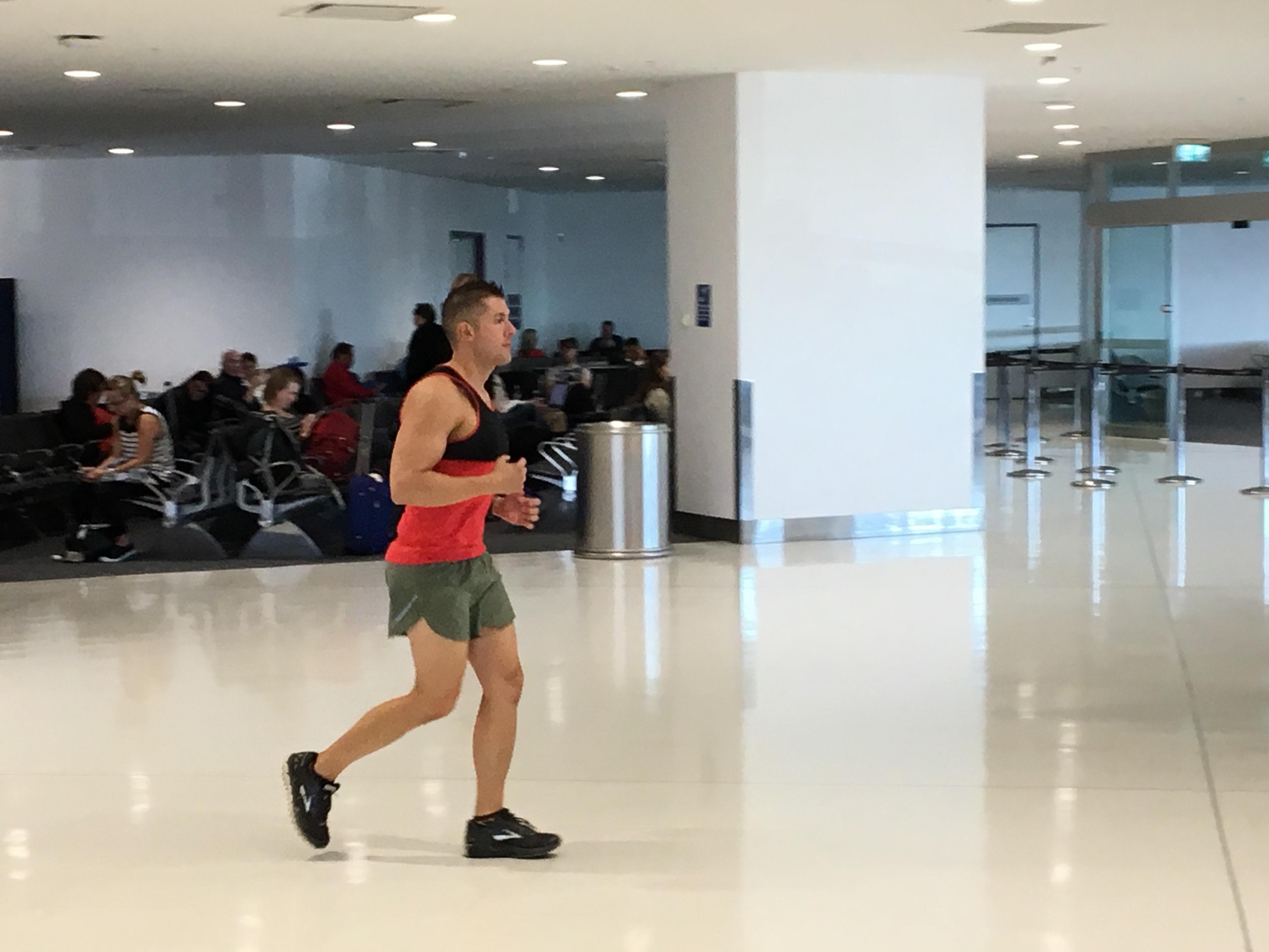 Photo: Airport Exercise Book Ken Seifert