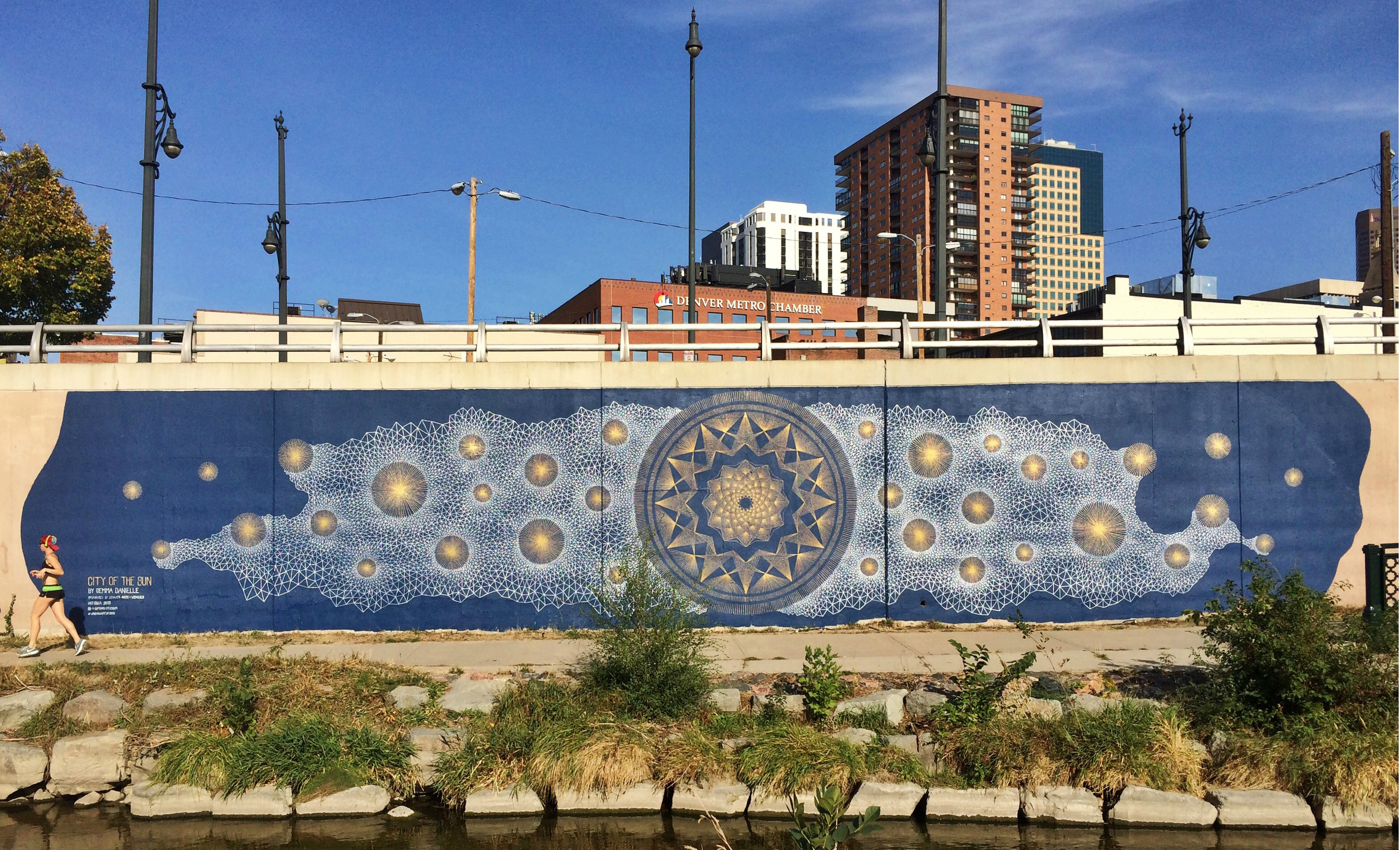 Photo: 'City Of The Sun' Mural By Artist Gemma Danielle