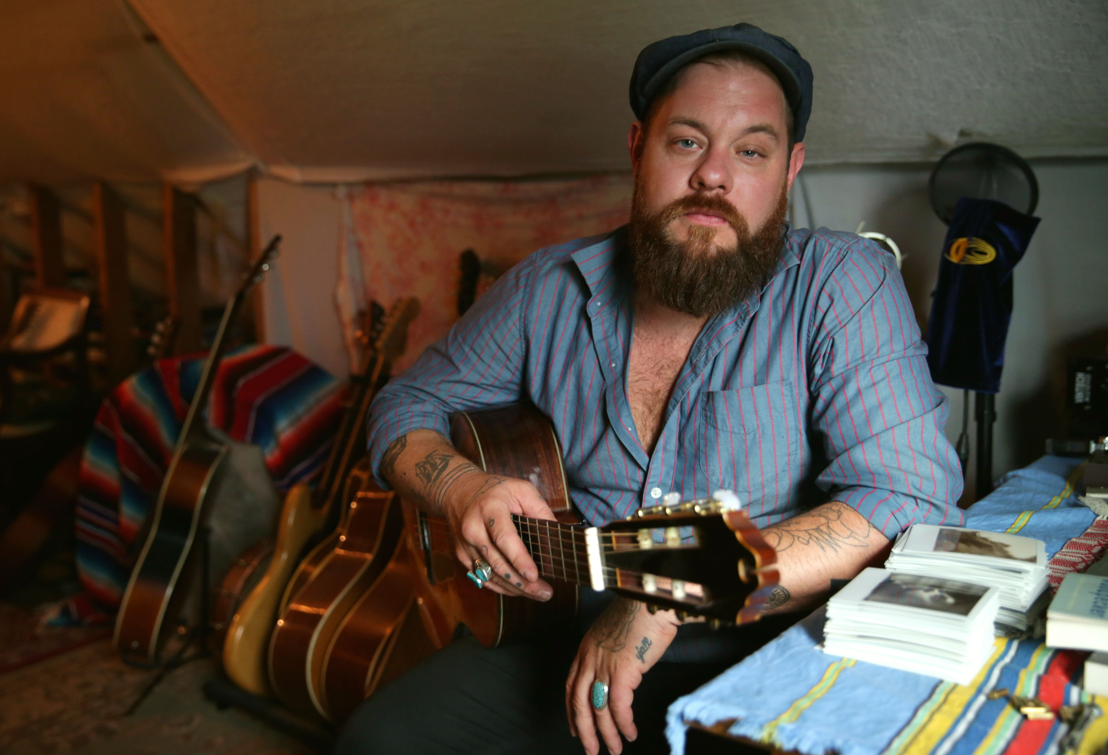 Photo: Nathaniel Rateliff portrait