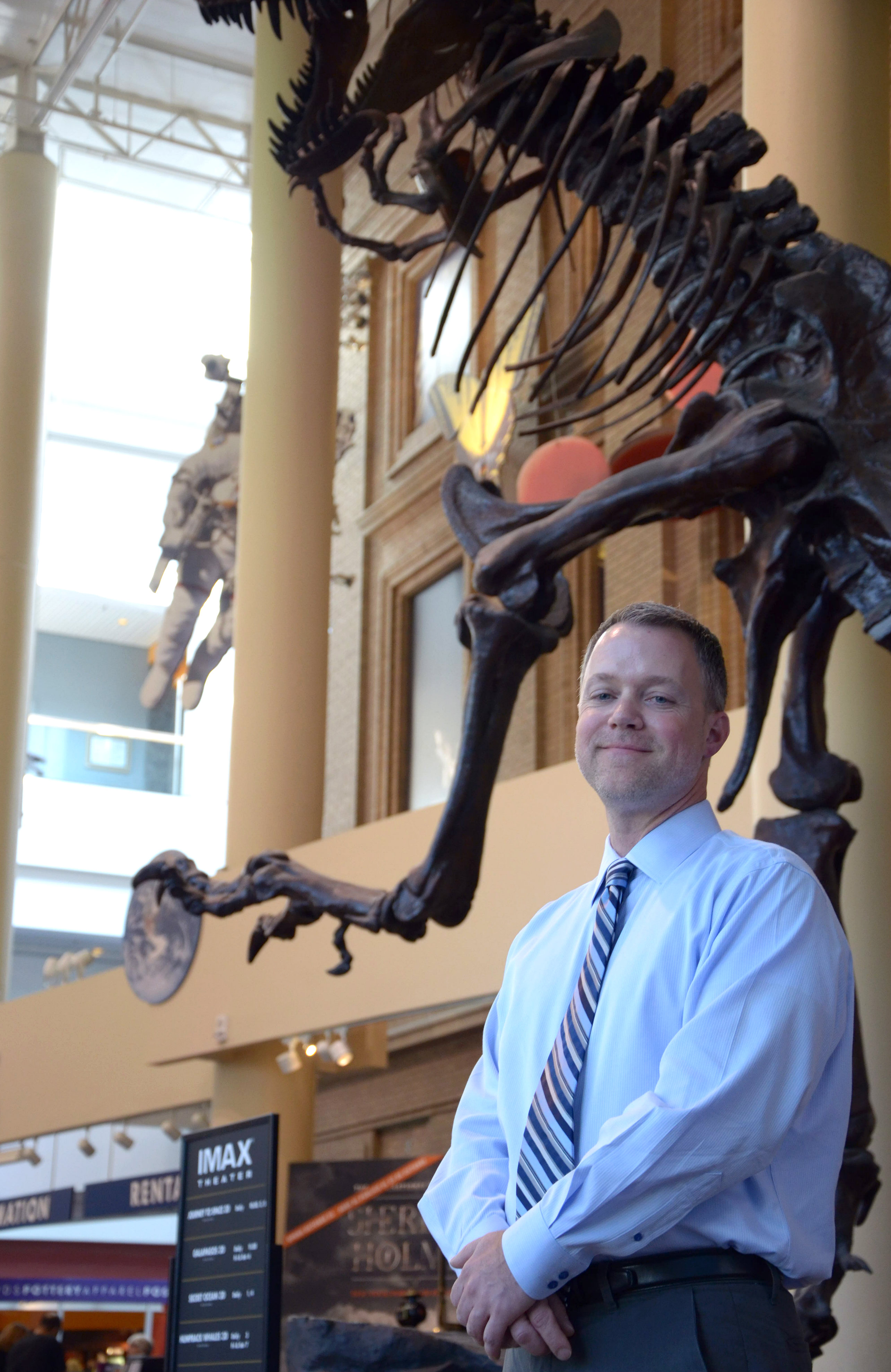 Photo: Ed Scholz of SCFD organization Denver Museum of Nature and Science