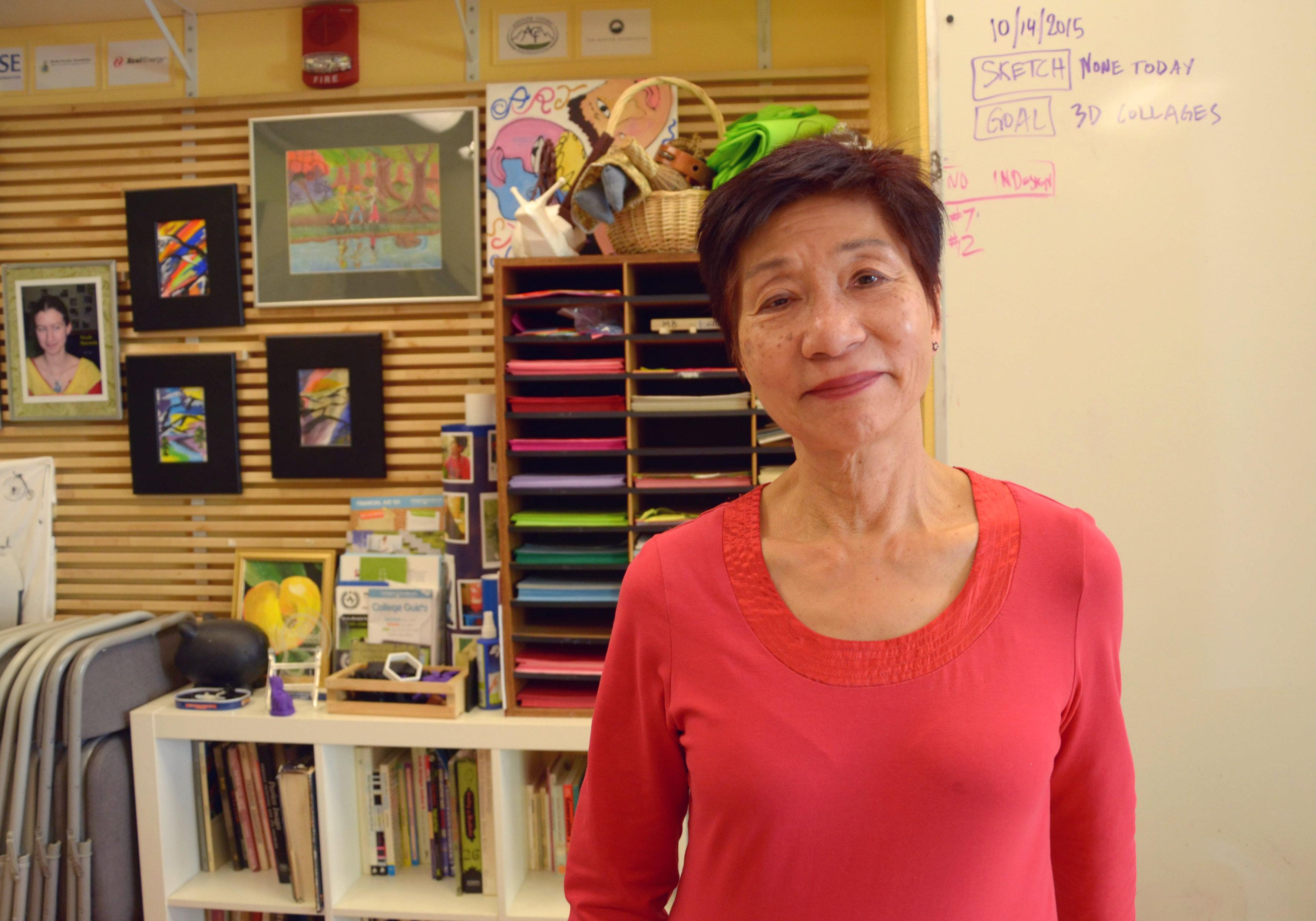 Photo: Stella Yu of SCFD organization Arts Street