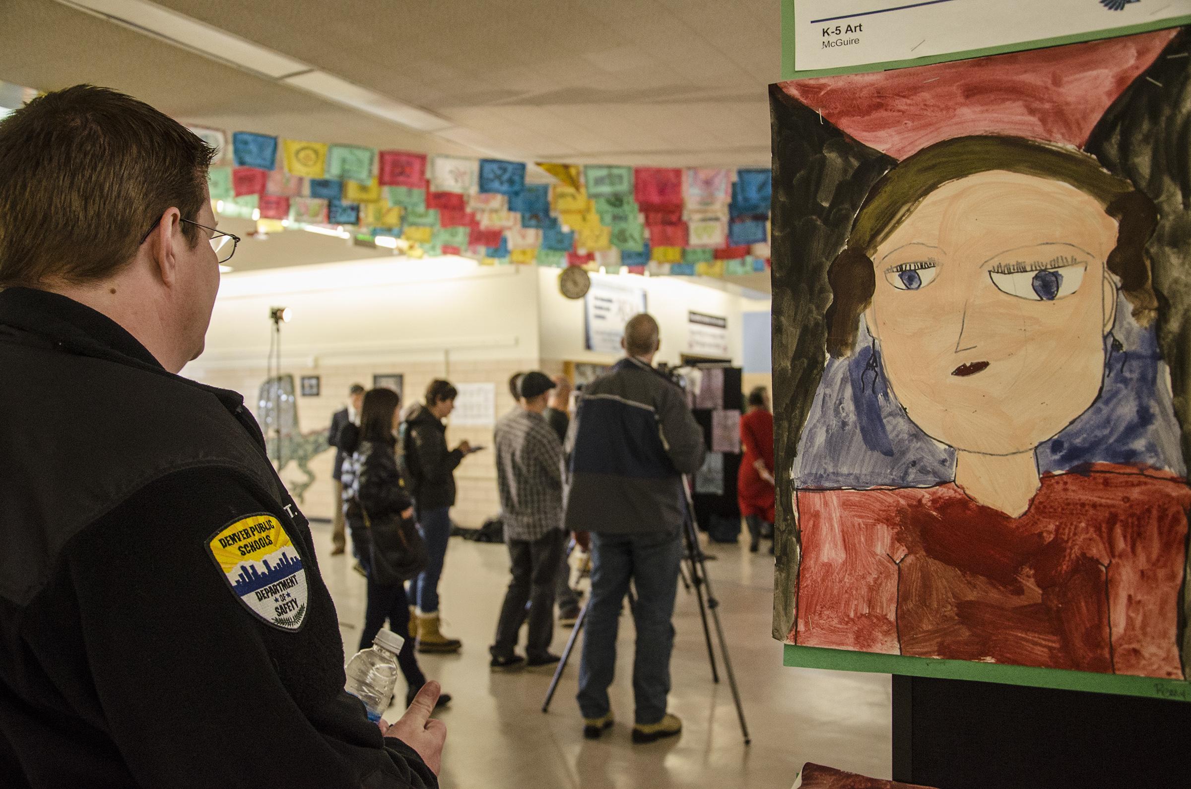 Photo: Kunsmiller Creative Arts Academy Student Art Controversy