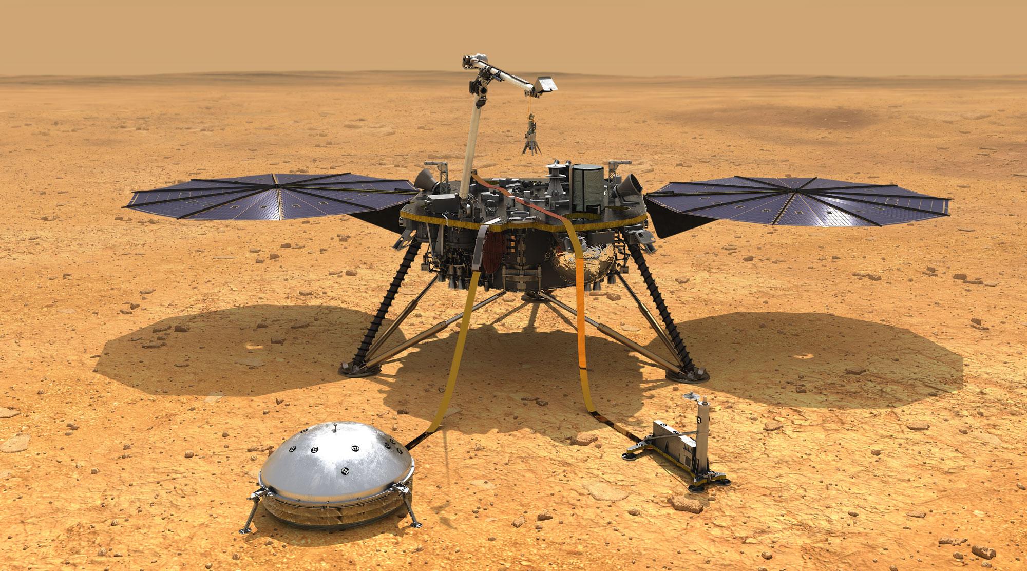 Photo: Mars InSight Spacecraft