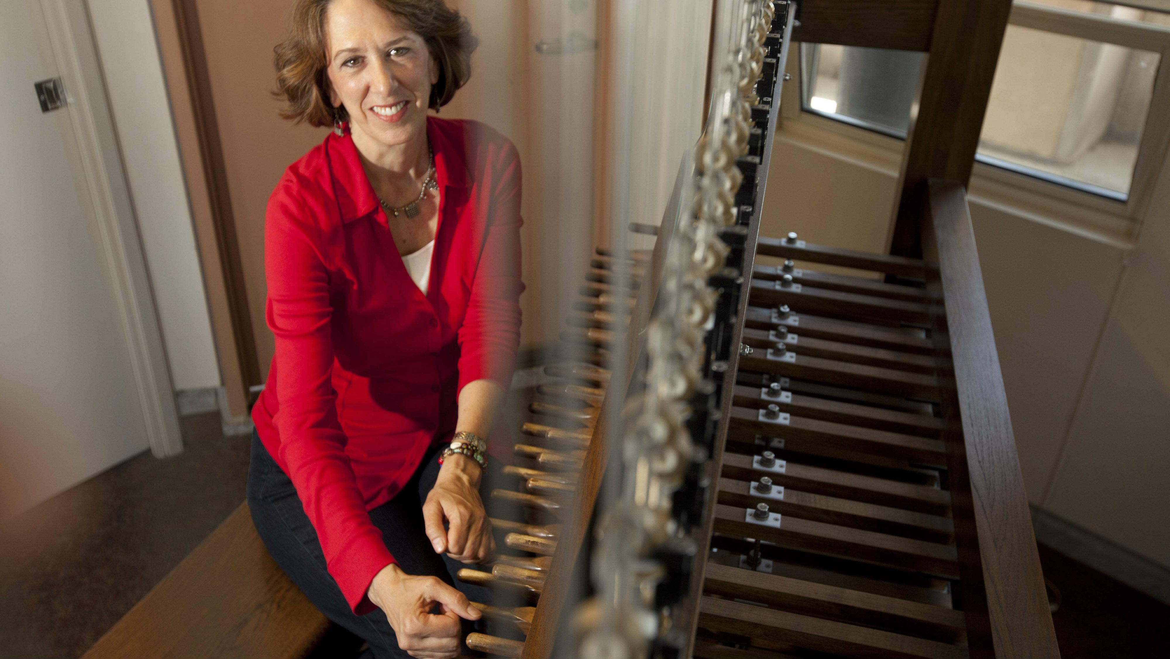 Photo: DU instructor and carillon player Carol Jickling Lens