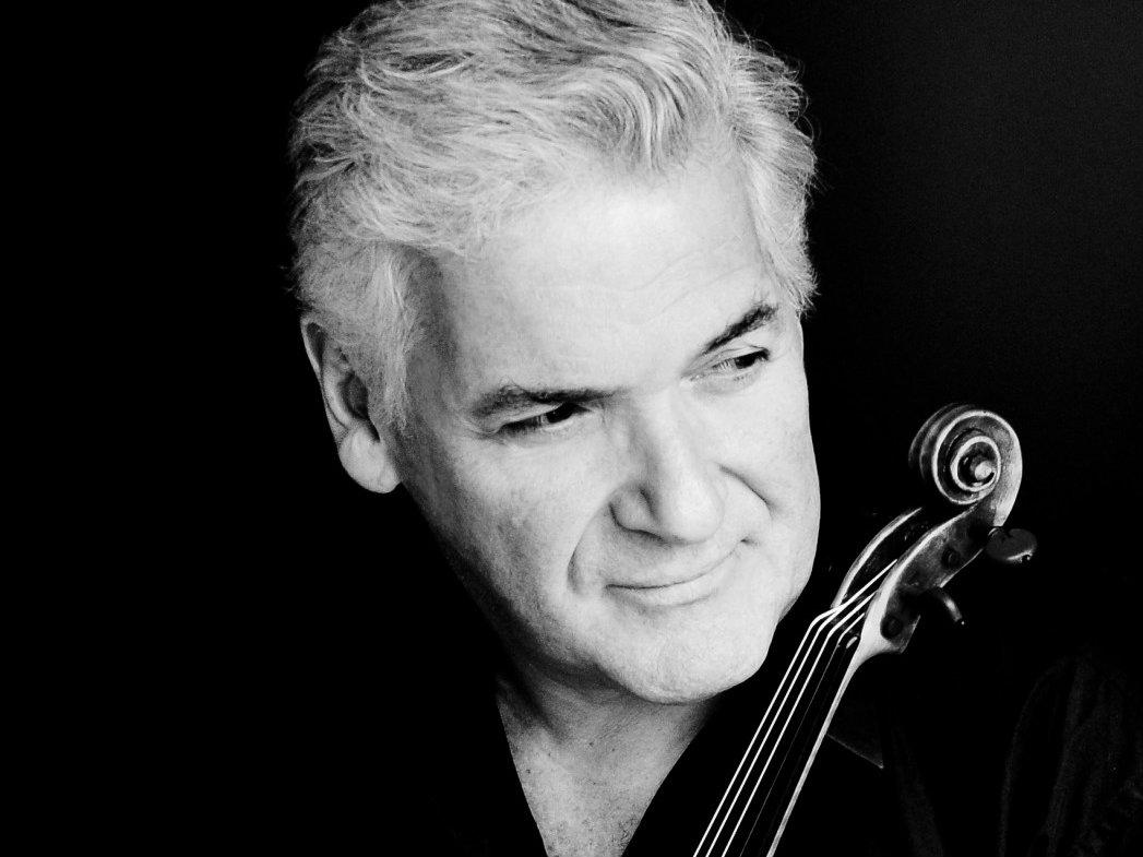 Photo: Conductor/violinist Pinchas Zukerman