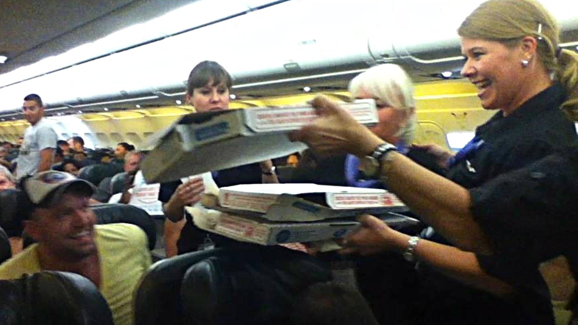Pizza pilot (AP Photo)