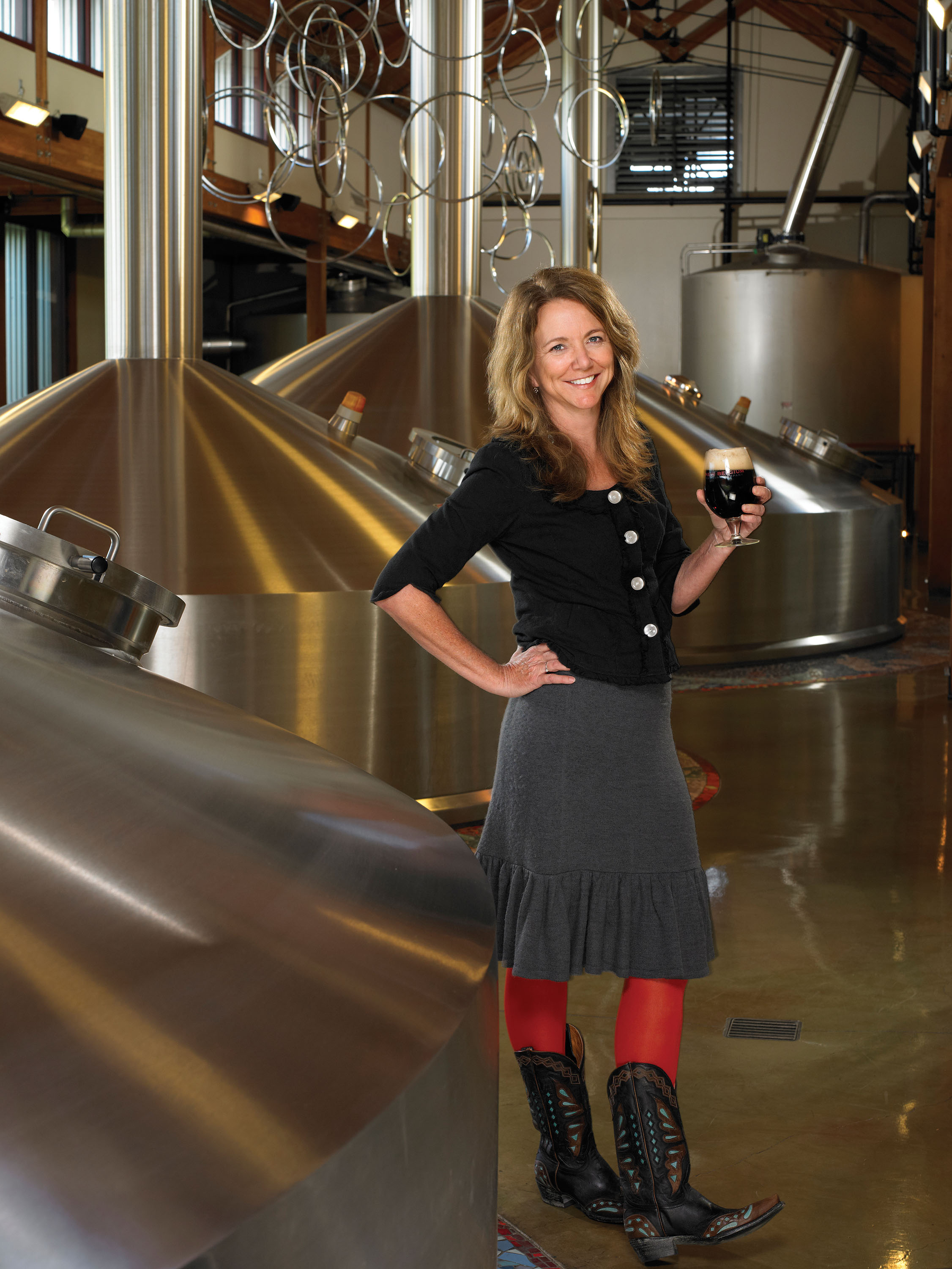 Photo: CEO of New Belgium Brewing Company Kim Jordan (2012)