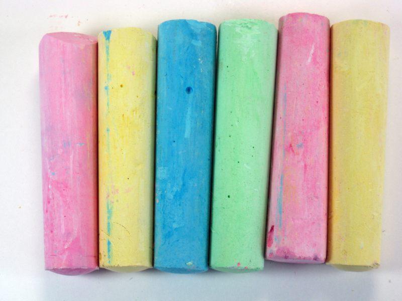 Photo: preschool chalk
