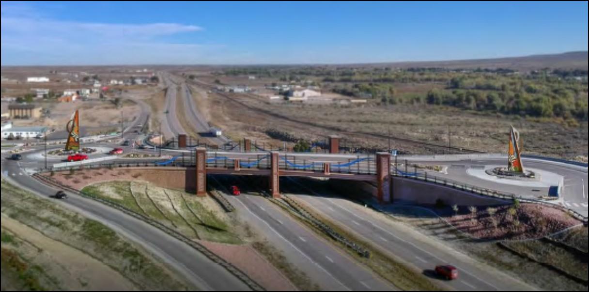 Photo: Pueblo Public Art Gateway to the Southwest