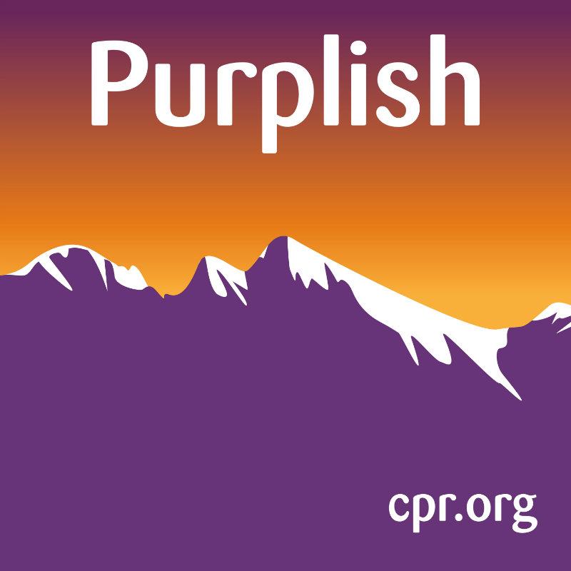 Image: Purplish podcast art