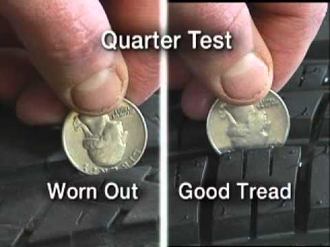 Photo: Quarter test