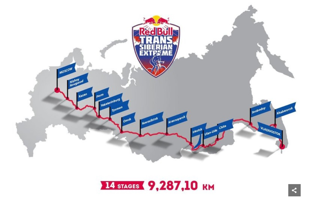 Image: Red Bull Race Map