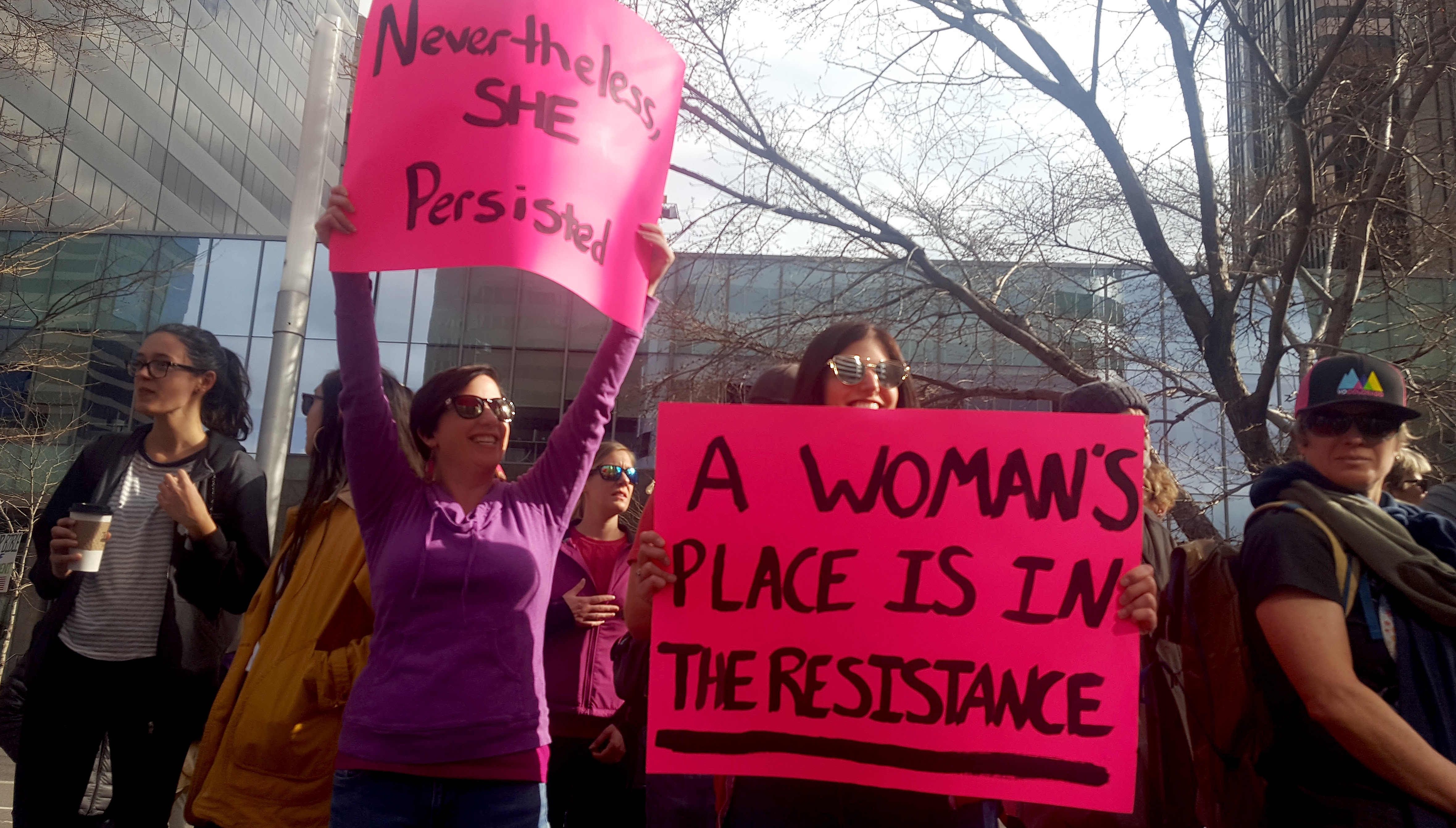 Photo: Planned Parenthood Supporters 2-11-2017 Brasch