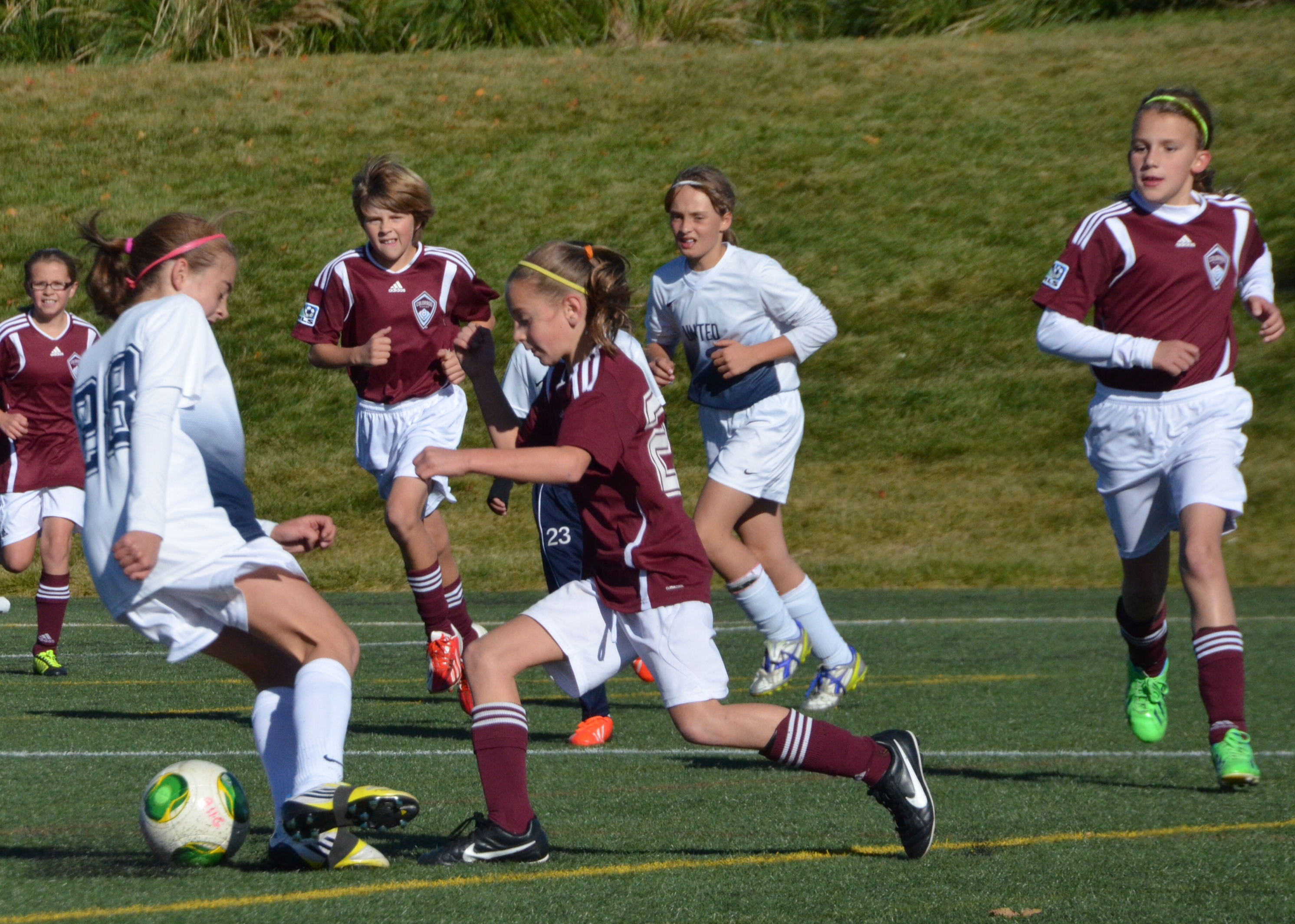 Photo: Colorado Rapids youth soccer player in action