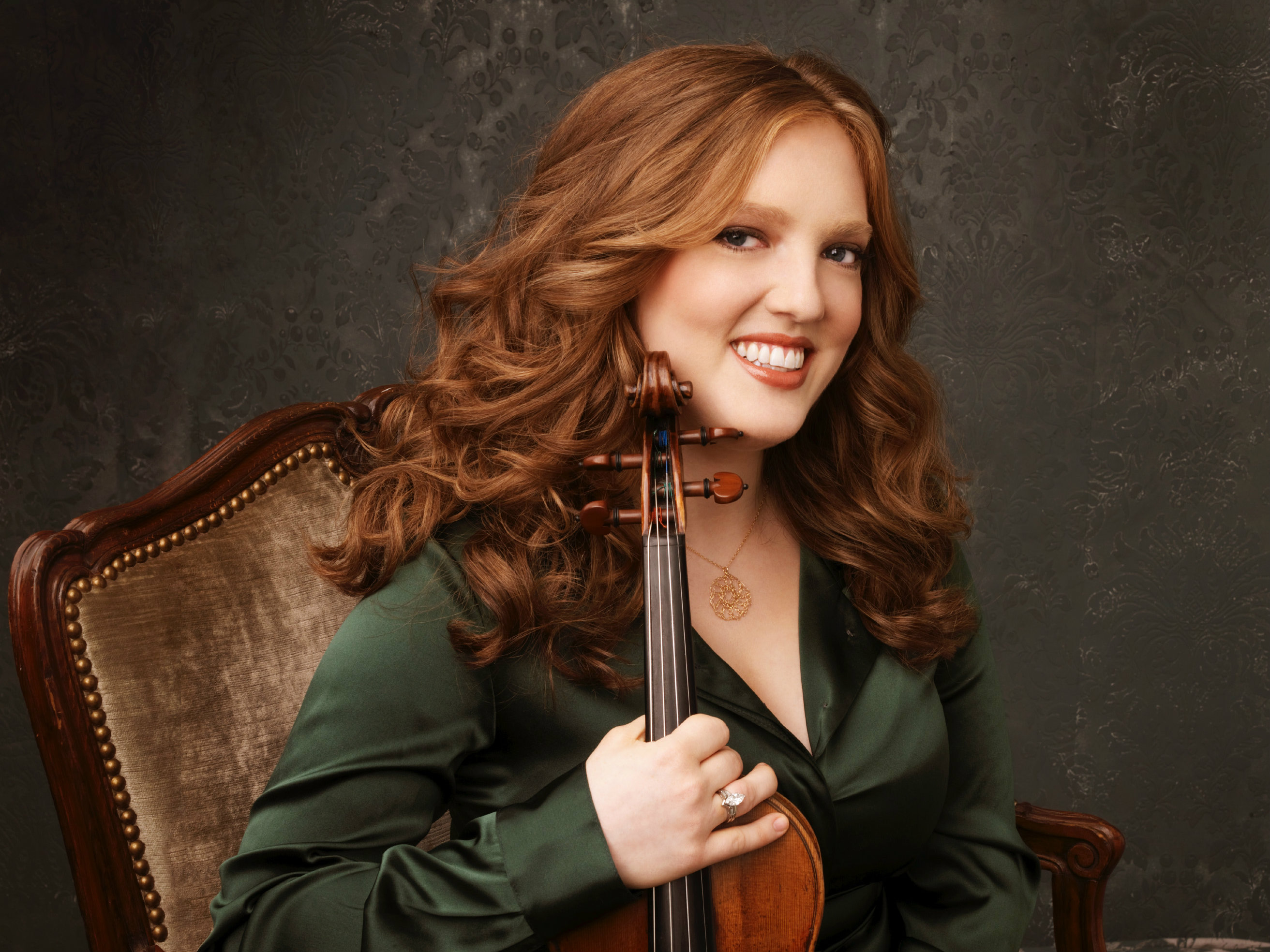 Photo: Violinist Rachel Barton Pine