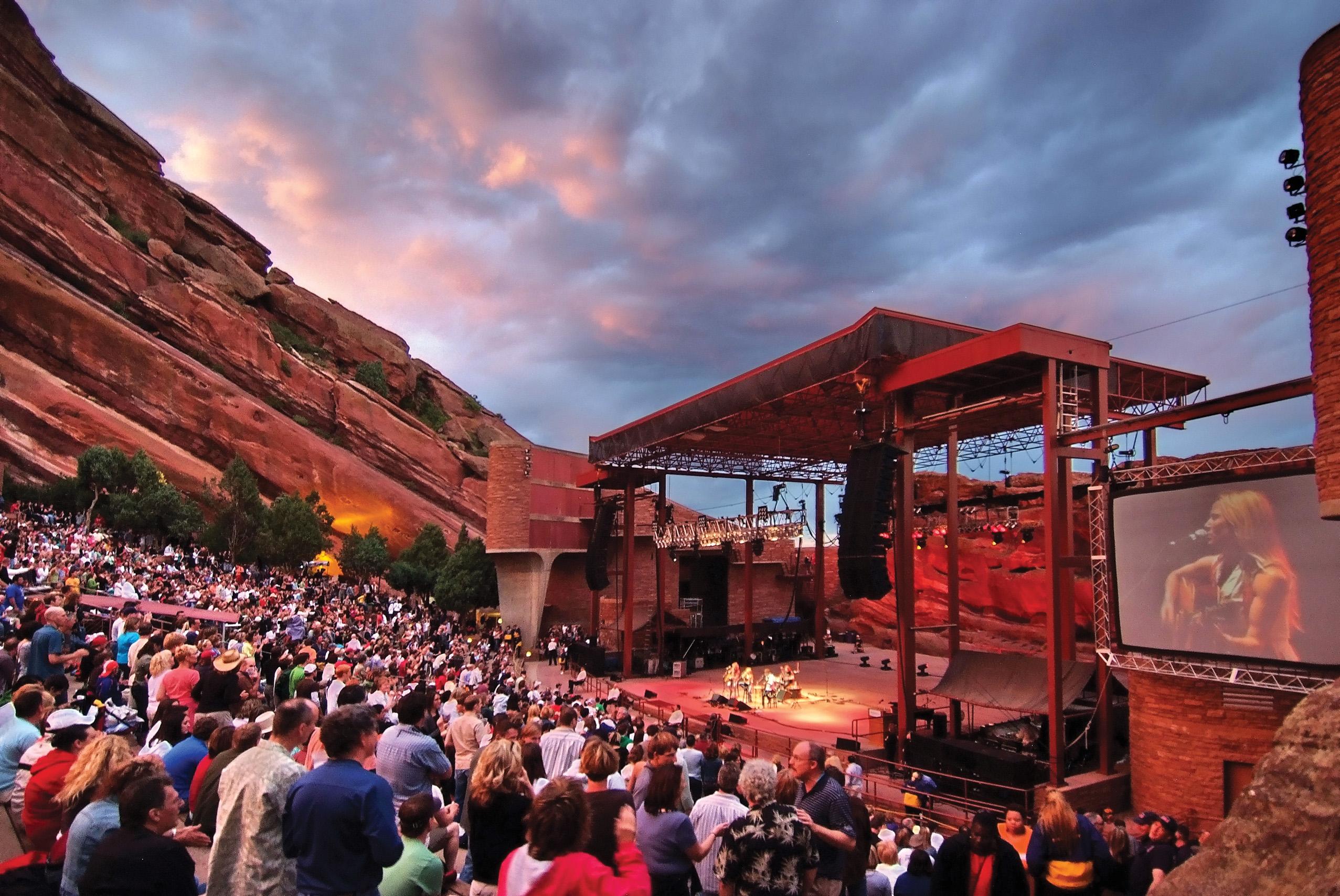 Photo: Red Rocks Concert 1