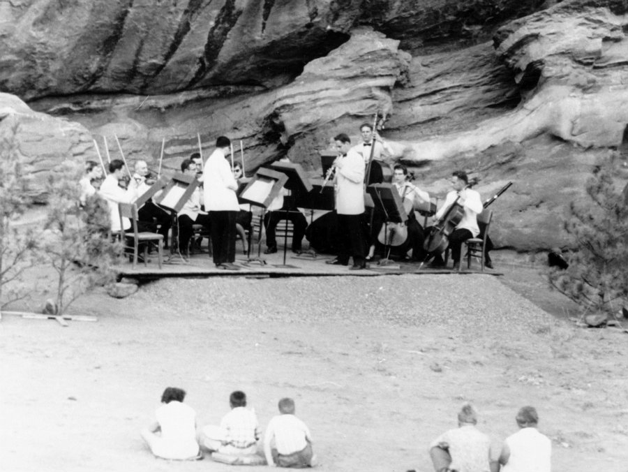 Photo: Red Rocks archive ensemble wide