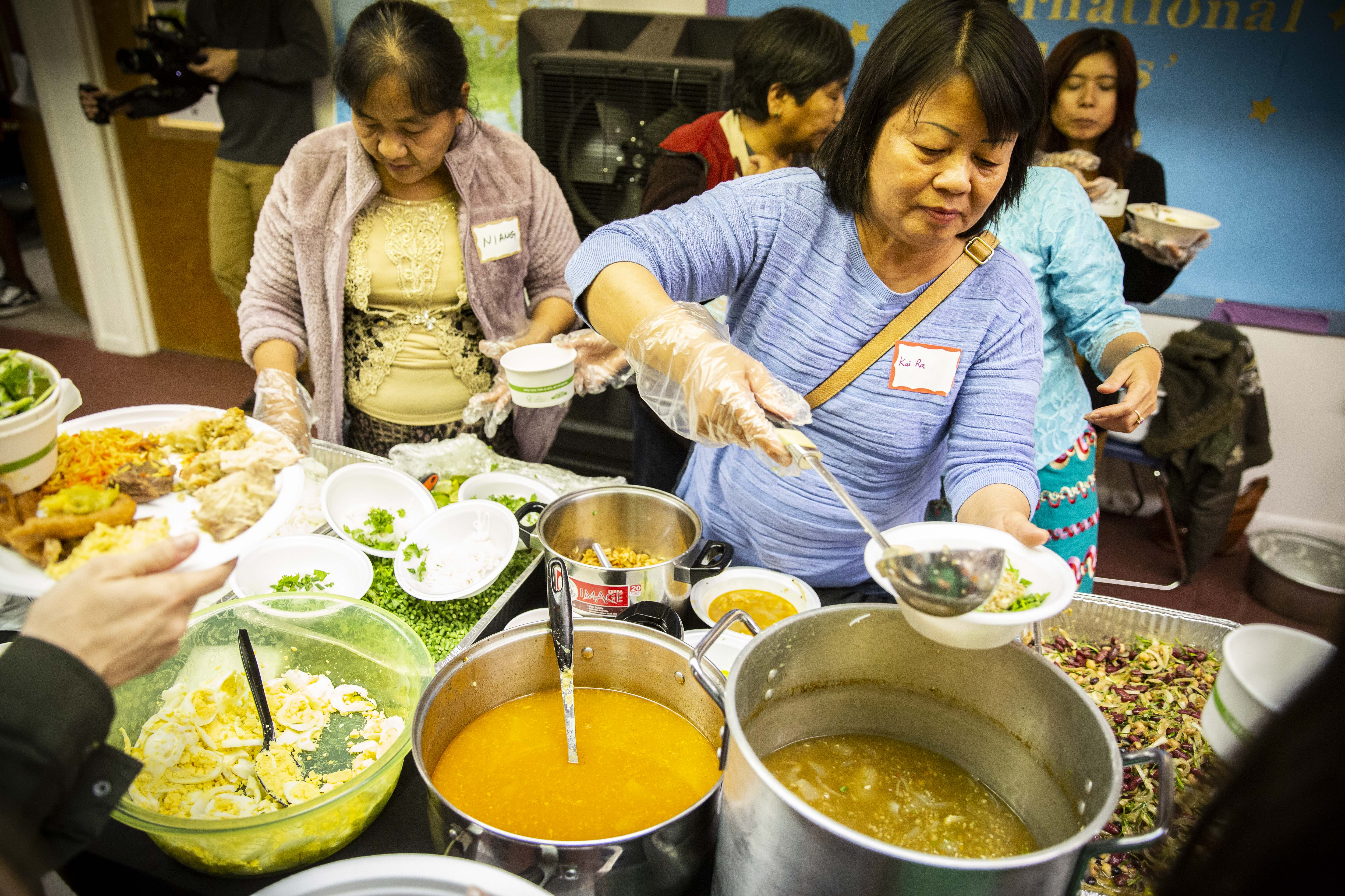 Photo: Refugee thanksgiving 1 | Kai Ra Myr Tung