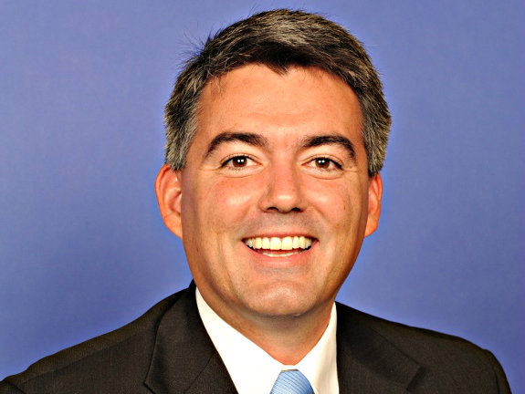 Photo: US Rep. Cory Gardner