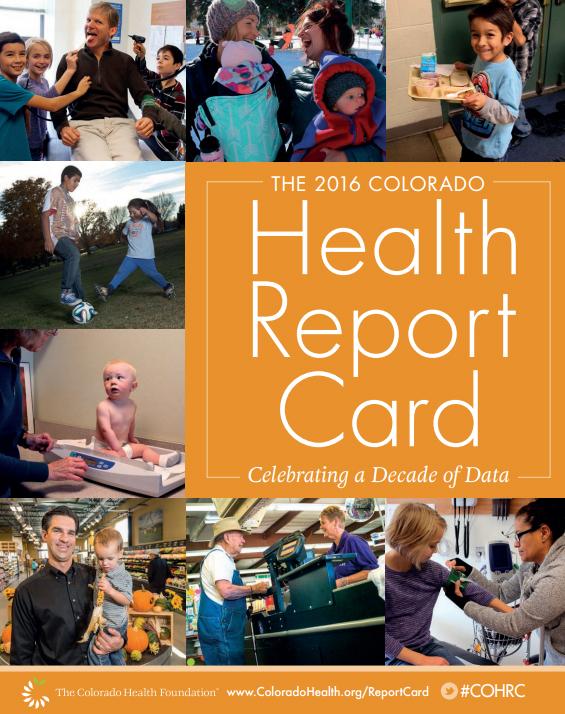 Graphic:Colorado Health Foundation Report Card