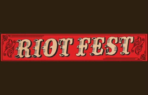 photo: Riot Fest banner