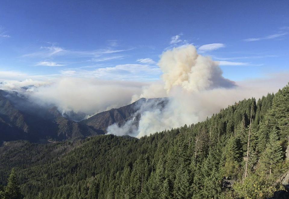 Photo: River Complex fire