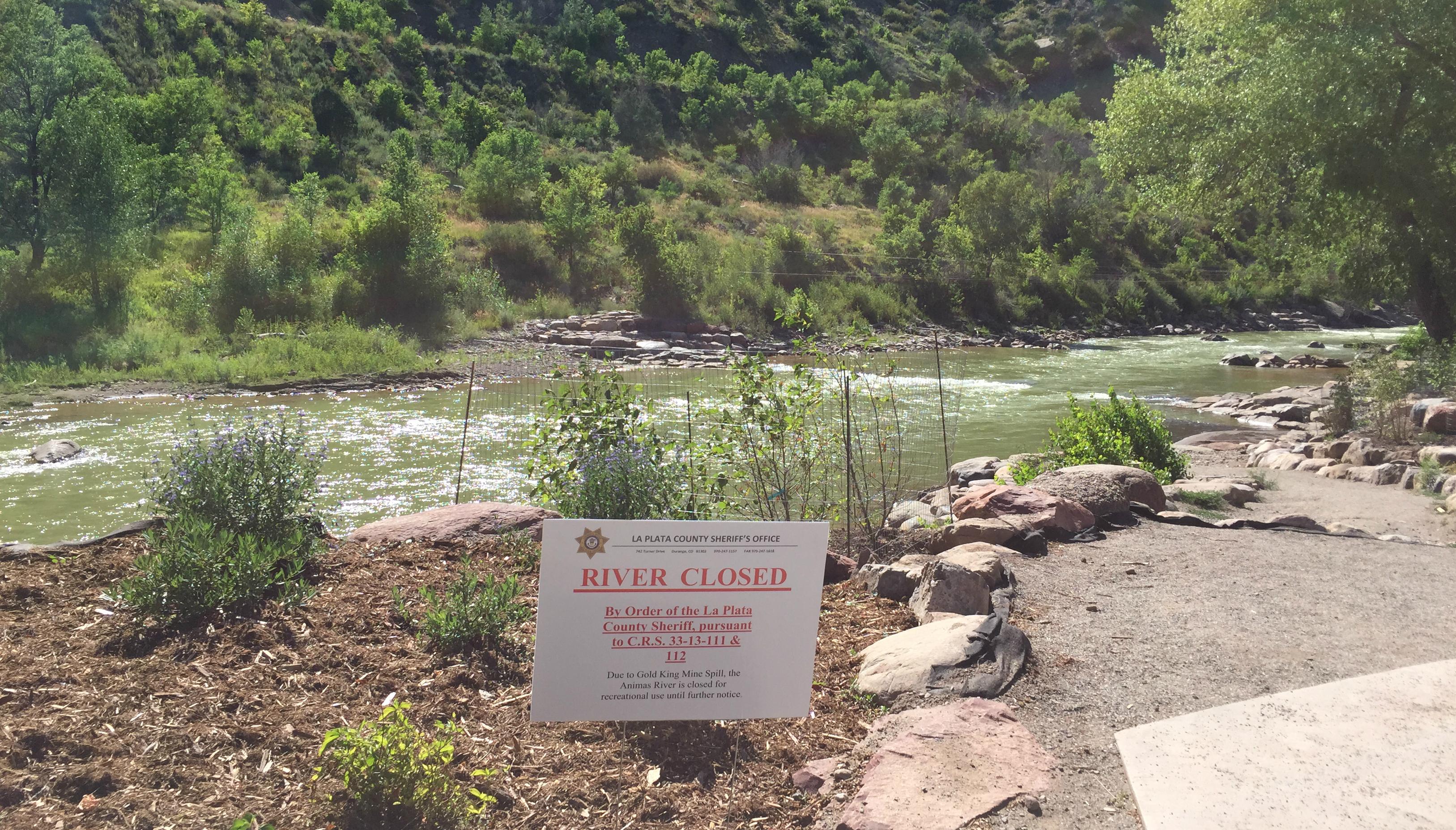Photo: River Closed