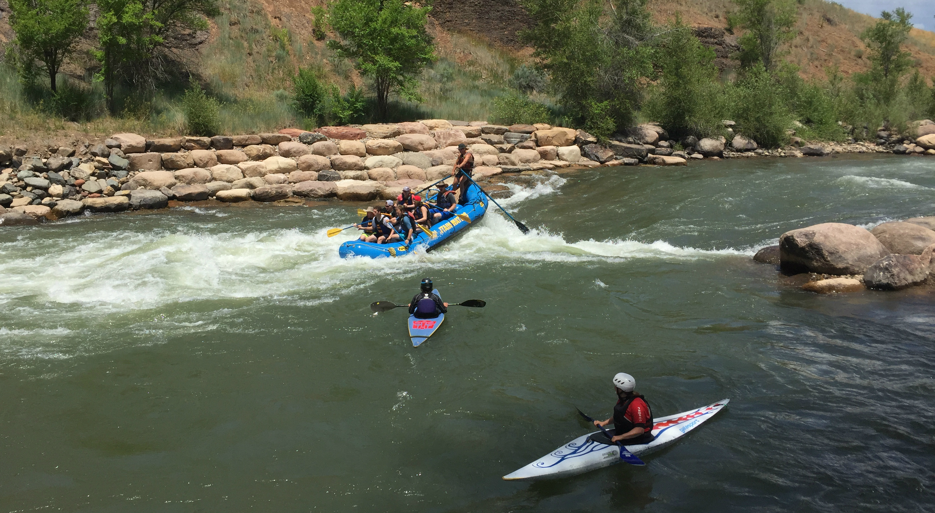Photo: Gold King Mine Spill Anniversary, Animas River, Whitewater Rafting